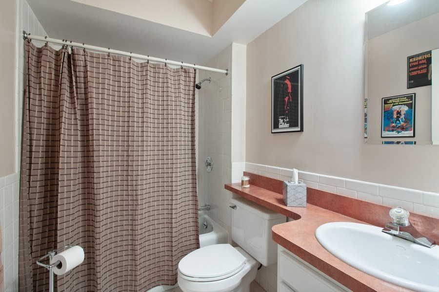 Real Estate Photography - 10740 W Cermak Rd, Westchester, IL, 60154 - Bathroom