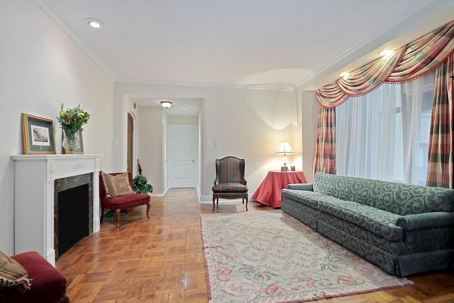 Real Estate Photography - 222 E Chestnut St, Unit 7D, Chicago, IL, 60611 - Living Room