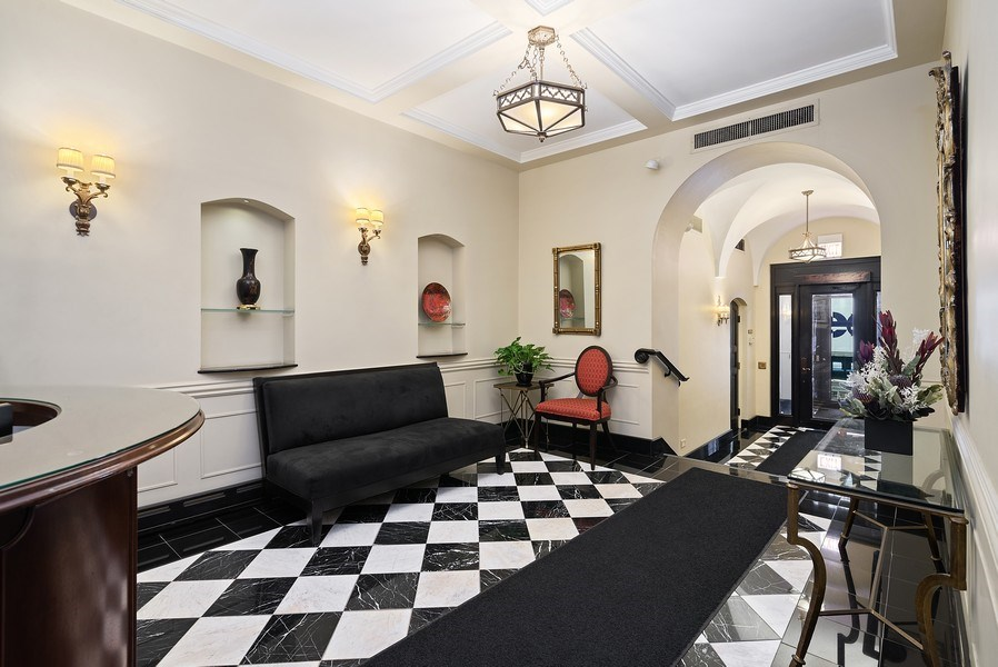 Real Estate Photography - 222 E Chestnut St, Unit 7D, Chicago, IL, 60611 - Lobby