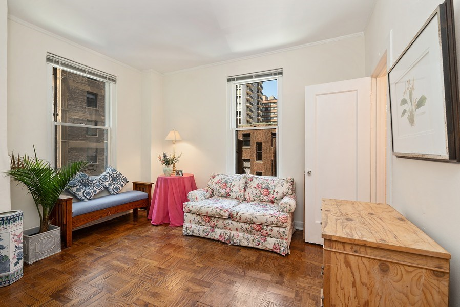 Real Estate Photography - 222 E Chestnut St, Unit 7D, Chicago, IL, 60611 - 2nd Bedroom