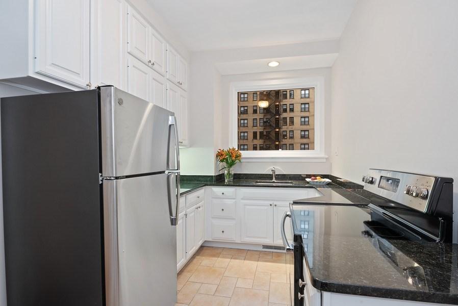 Real Estate Photography - 222 E Chestnut St, Unit 7D, Chicago, IL, 60611 - Kitchen