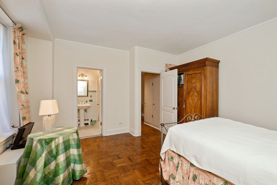 Real Estate Photography - 222 E Chestnut St, Unit 7D, Chicago, IL, 60611 - Master Bedroom