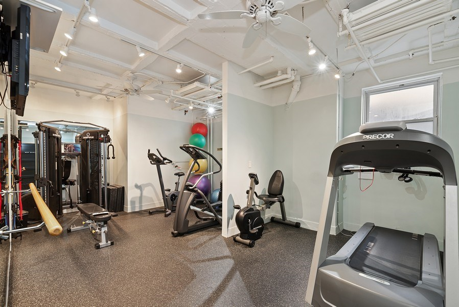 Real Estate Photography - 222 E Chestnut St, Unit 7D, Chicago, IL, 60611 - Exercise Room