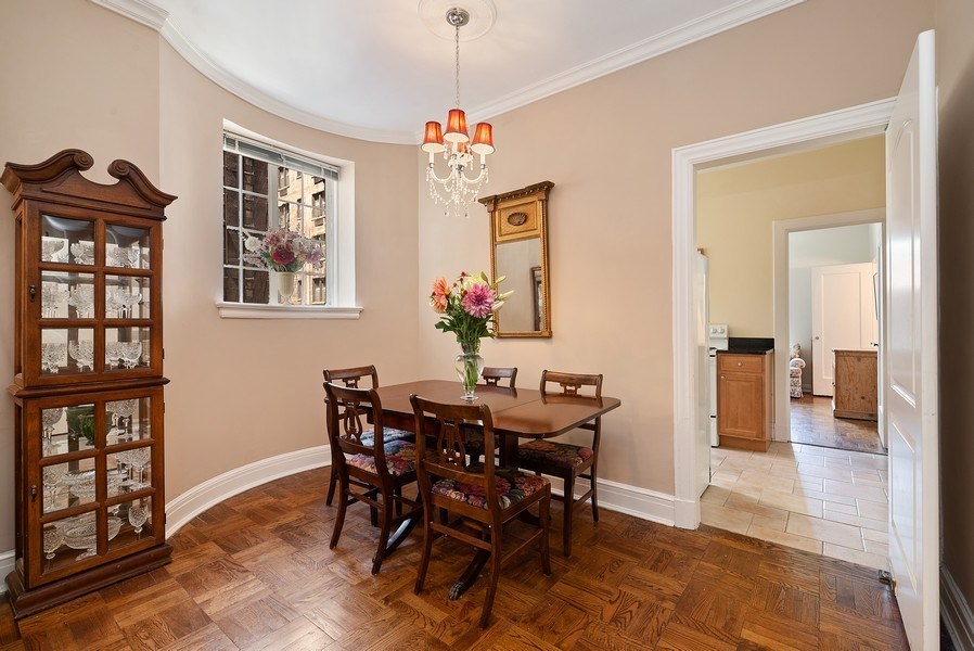 Real Estate Photography - 222 E Chestnut St, Unit 7D, Chicago, IL, 60611 - Dining Room
