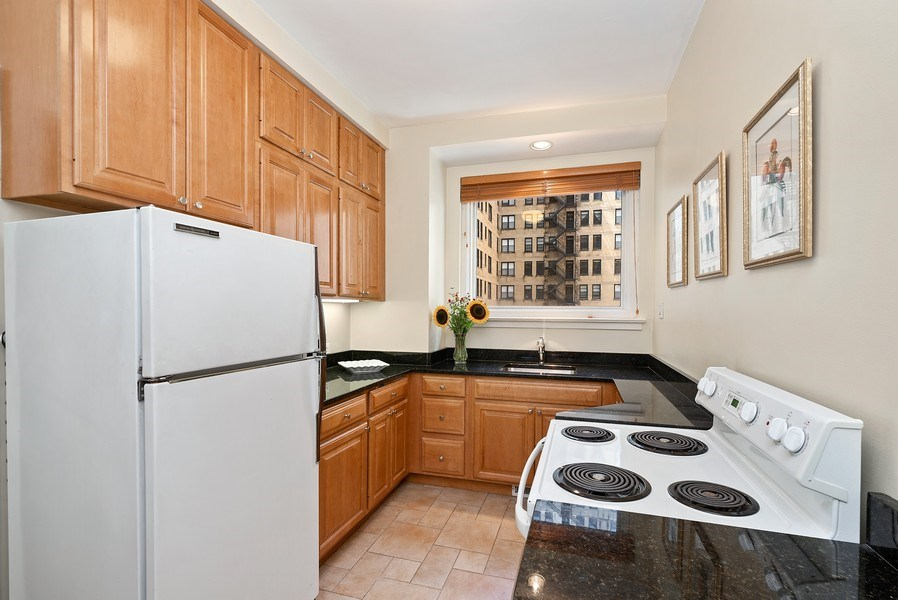 Real Estate Photography - 222 E Chestnut St, Unit 7D, Chicago, IL, 60611 - Kitchen