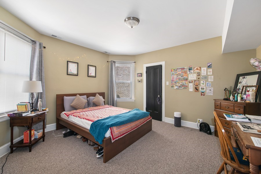 Real Estate Photography - 6118 N. Campbell Avenue, Chicago, IL, 60659 - Master Bedroom