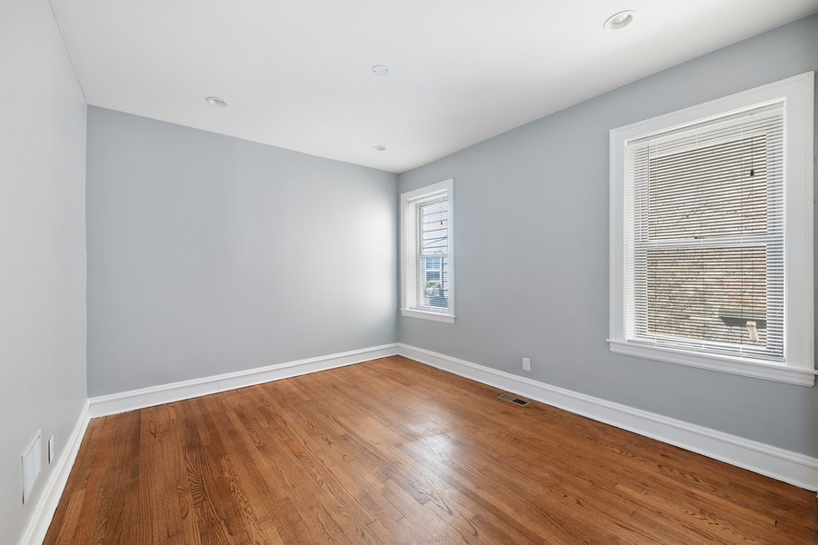 Real Estate Photography - 6118 N. Campbell Avenue, Chicago, IL, 60659 - 3rd Bedroom