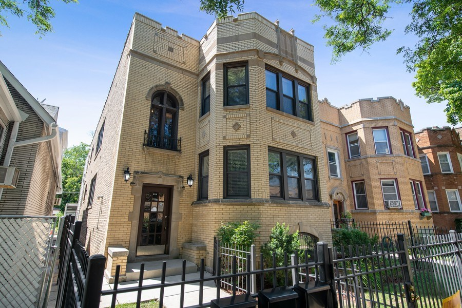 Real Estate Photography - 6118 N. Campbell Avenue, Chicago, IL, 60659 - Front View