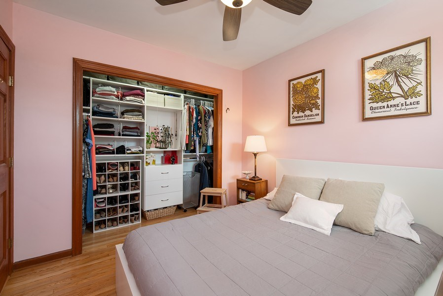 Real Estate Photography - 3132 n Clifton, 3S, chicago, IL, 60657 - Bedroom