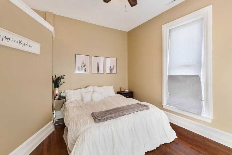 Real Estate Photography - 26 N Whittaker St, New Buffalo, MI, 49117 - Apartment Bedroom