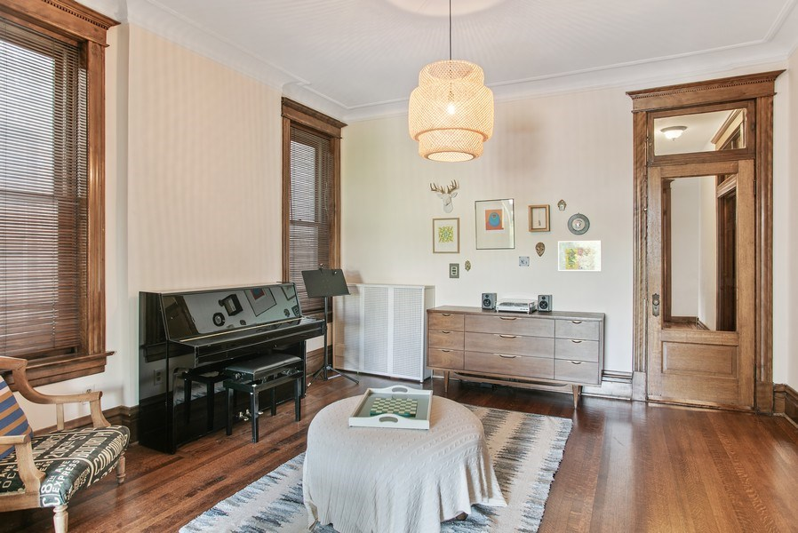 Real Estate Photography - 3618 N Fremont, Unit 2, Chicago, IL, 60613 - Dining Room