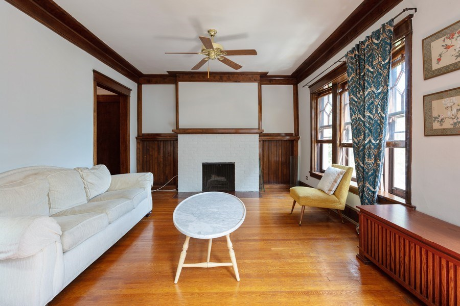 Real Estate Photography - 1646 E 54th St, 3D, Chicago, IL, 60615 - Living Room