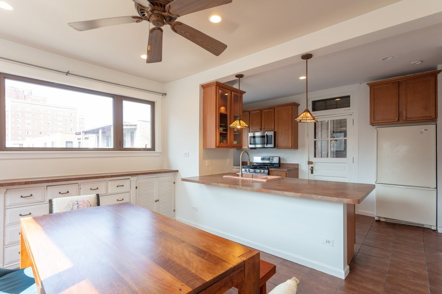 Real Estate Photography - 1646 E 54th St, 3D, Chicago, IL, 60615 - Dining Room