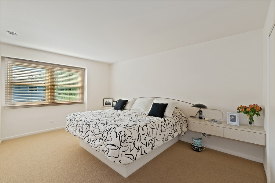 Real Estate Photography - 1682 Cavell, Highland Park, IL, 60035 - Master Bedroom