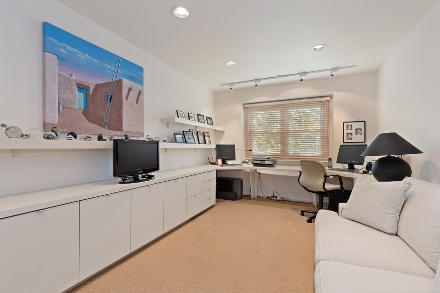 Real Estate Photography - 1682 Cavell, Highland Park, IL, 60035 - 3rd Bedroom
