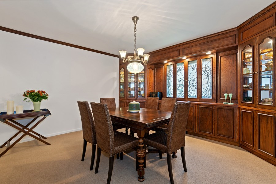 Real Estate Photography - 1682 Cavell, Highland Park, IL, 60035 - Dining Room