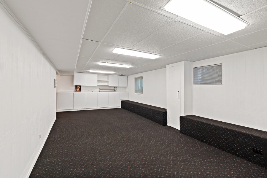 Real Estate Photography - 1682 Cavell, Highland Park, IL, 60035 - Basement
