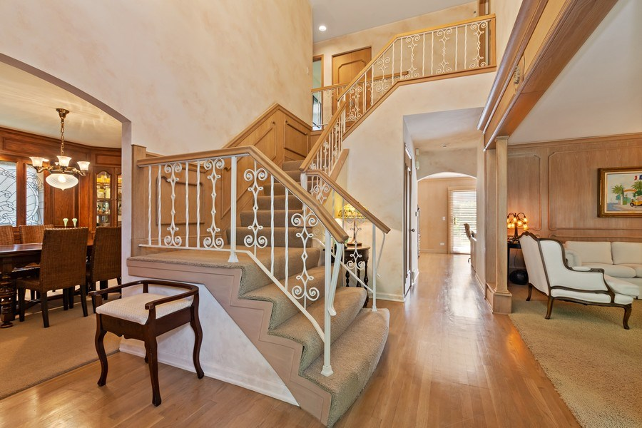 Real Estate Photography - 1682 Cavell, Highland Park, IL, 60035 - Foyer
