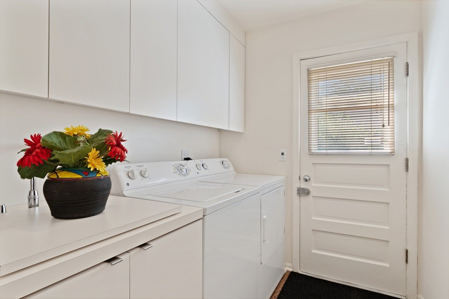 Real Estate Photography - 1682 Cavell, Highland Park, IL, 60035 - Laundry Room