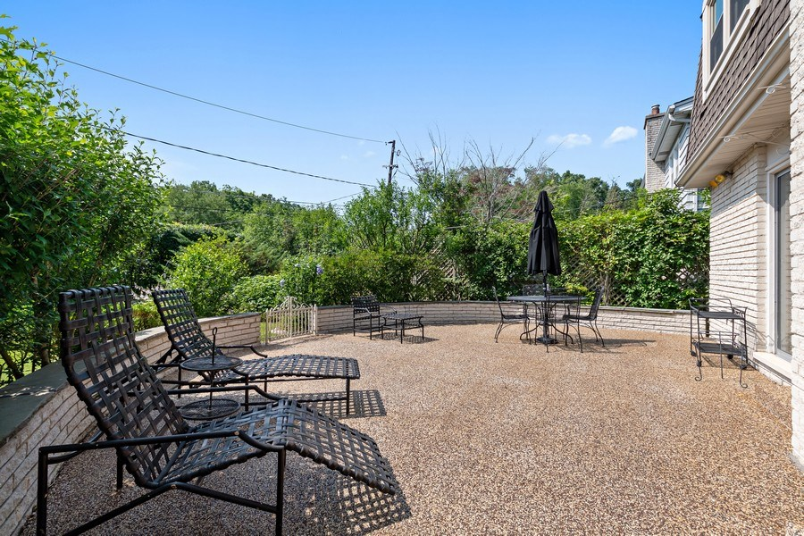 Real Estate Photography - 1682 Cavell, Highland Park, IL, 60035 - Patio