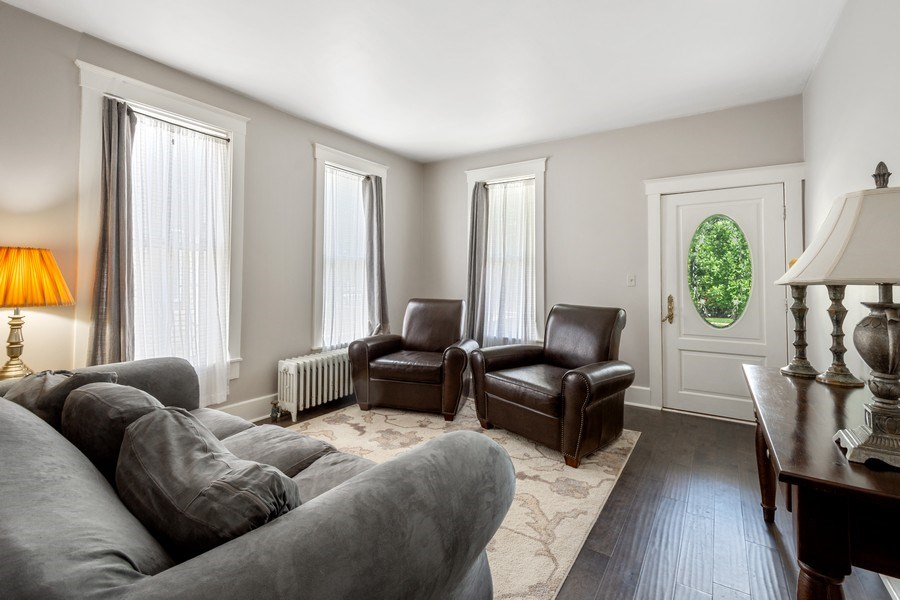 Real Estate Photography - 315 W Lincoln Ave, Barrington, IL, 60010 - Living Room