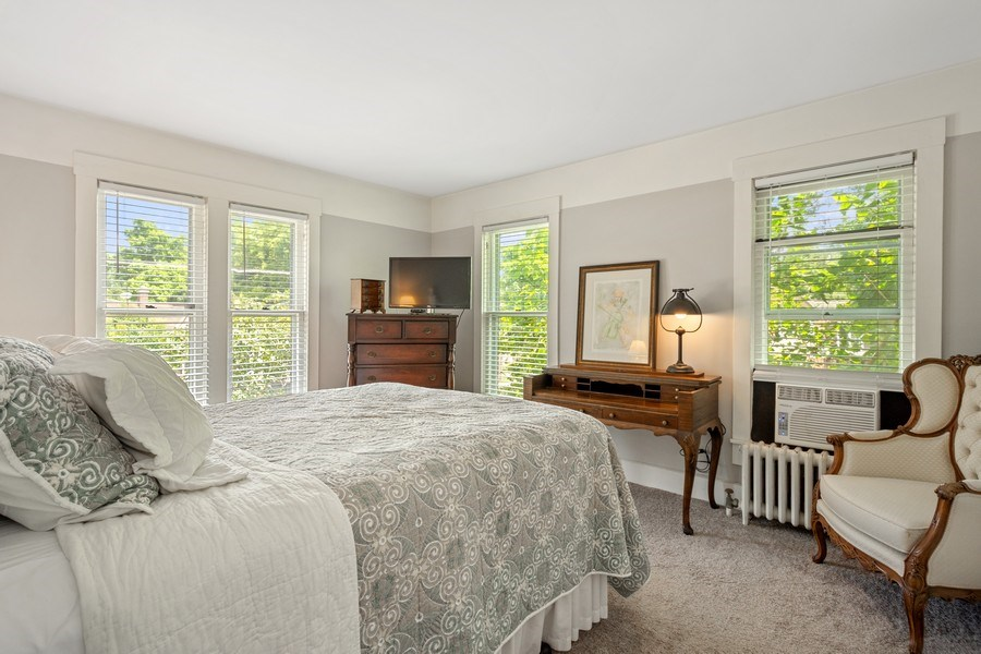 Real Estate Photography - 315 W Lincoln Ave, Barrington, IL, 60010 - Master Bedroom