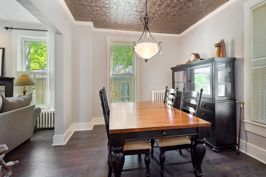 Real Estate Photography - 315 W Lincoln Ave, Barrington, IL, 60010 - Dining Area