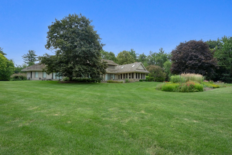 Real Estate Photography - 82 Paganica, Barrington Hills, IL, 60010 - Rear View