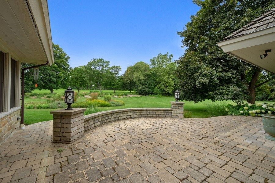 Real Estate Photography - 82 Paganica, Barrington Hills, IL, 60010 - Patio