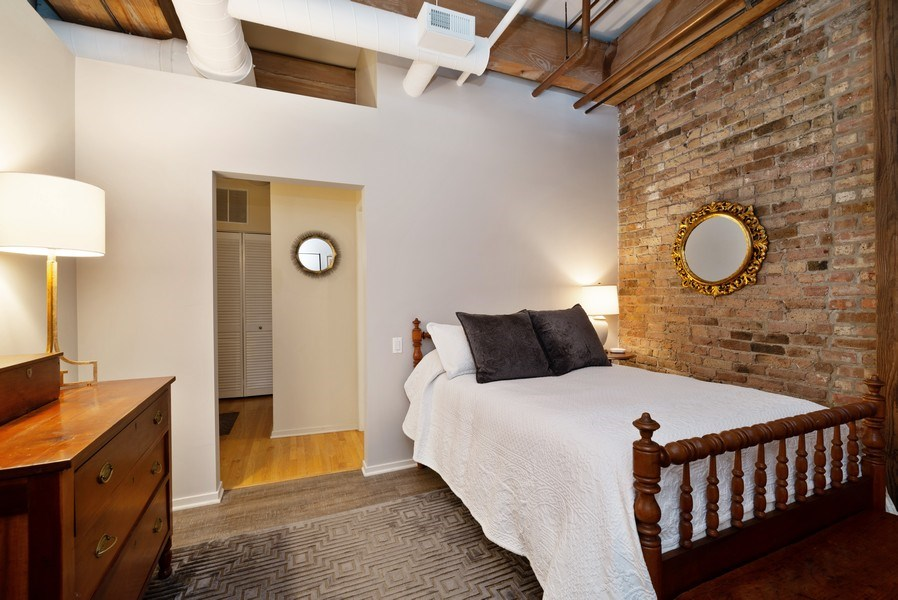 Real Estate Photography - 375 W Erie St, unit 501, Chicago, IL, 60654 - 2nd Bedroom
