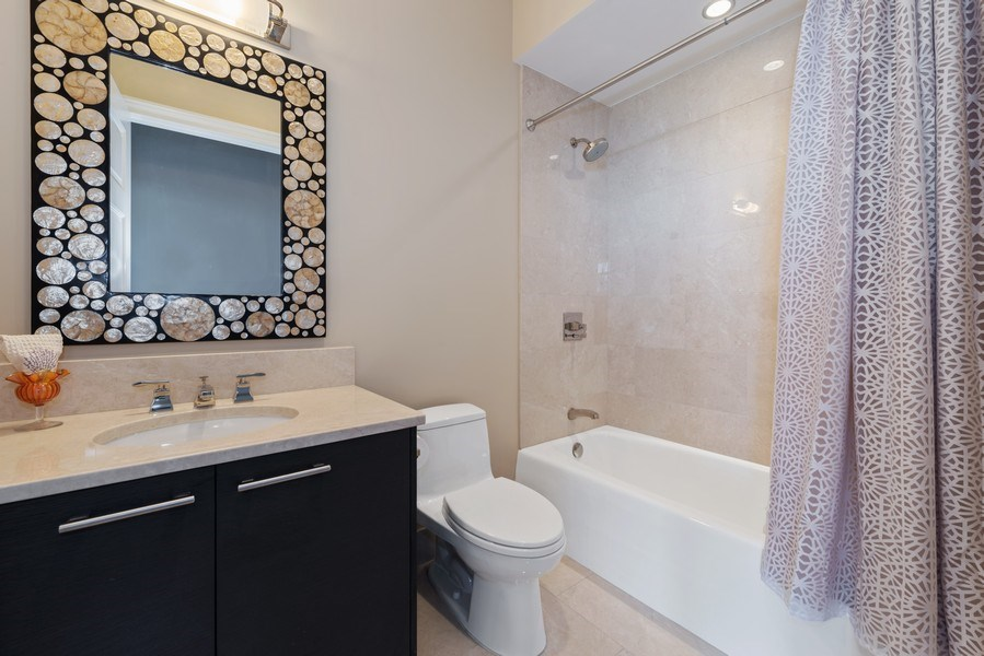 Real Estate Photography - 2550 N Lakeview, S2501, Chicago, IL, 60614 - 3rd Bathroom