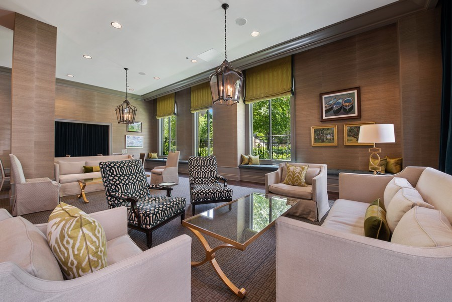 Real Estate Photography - 2550 N Lakeview, S2501, Chicago, IL, 60614 - Club Room