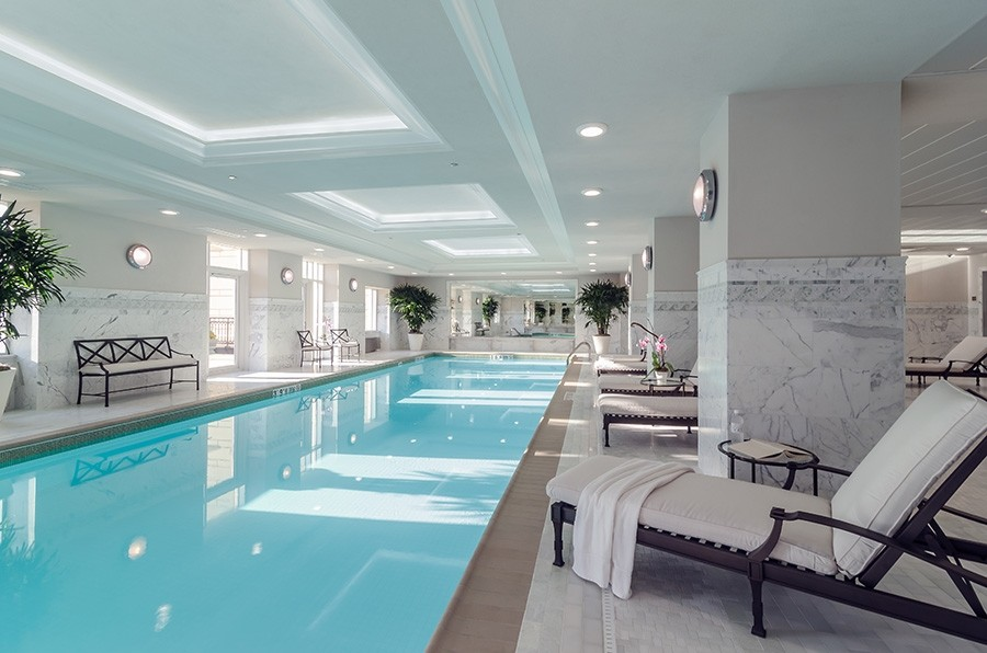 Real Estate Photography - 2550 N Lakeview, S2501, Chicago, IL, 60614 - Indoor Pool