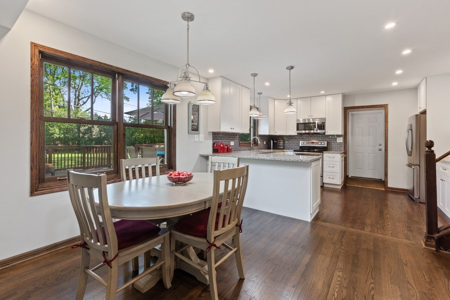Real Estate Photography - 408 E Thomas, Arlington Heights, IL, 60004 - Kitchen / Breakfast Room