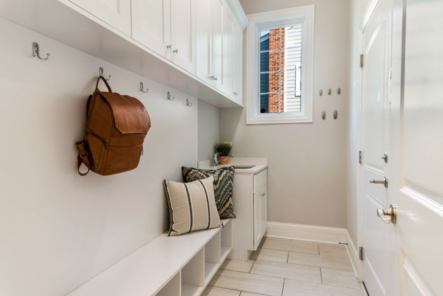 Real Estate Photography - 330 Nora Ave, Glenview, IL, 60025 - Mudroom