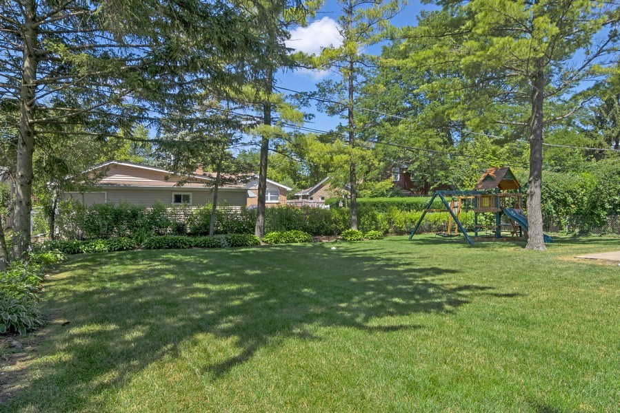 Real Estate Photography - 330 Nora Ave, Glenview, IL, 60025 - Back Yard