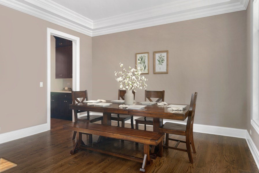 Real Estate Photography - 330 Nora Ave, Glenview, IL, 60025 - Dining Room
