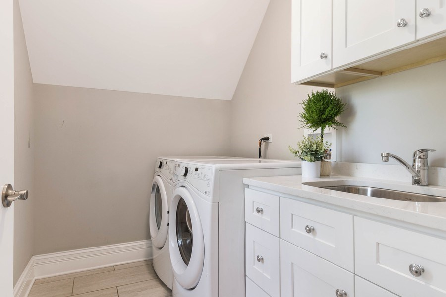 Real Estate Photography - 330 Nora Ave, Glenview, IL, 60025 - Laundry Room