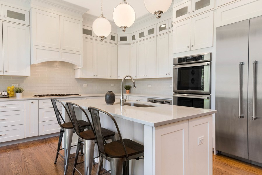 Real Estate Photography - 330 Nora Ave, Glenview, IL, 60025 - Kitchen