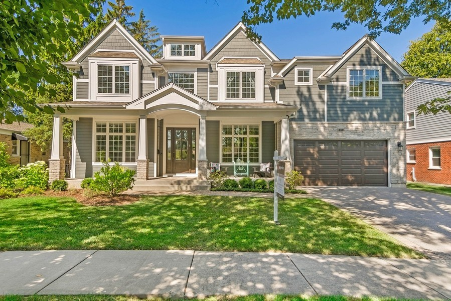 Real Estate Photography - 330 Nora Ave, Glenview, IL, 60025 - Front View