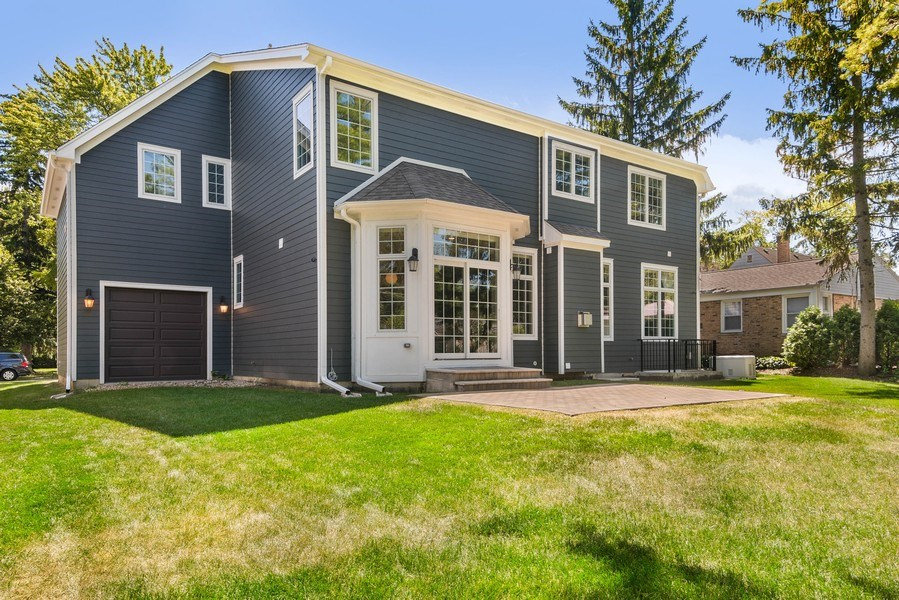 Real Estate Photography - 330 Nora Ave, Glenview, IL, 60025 - Rear View