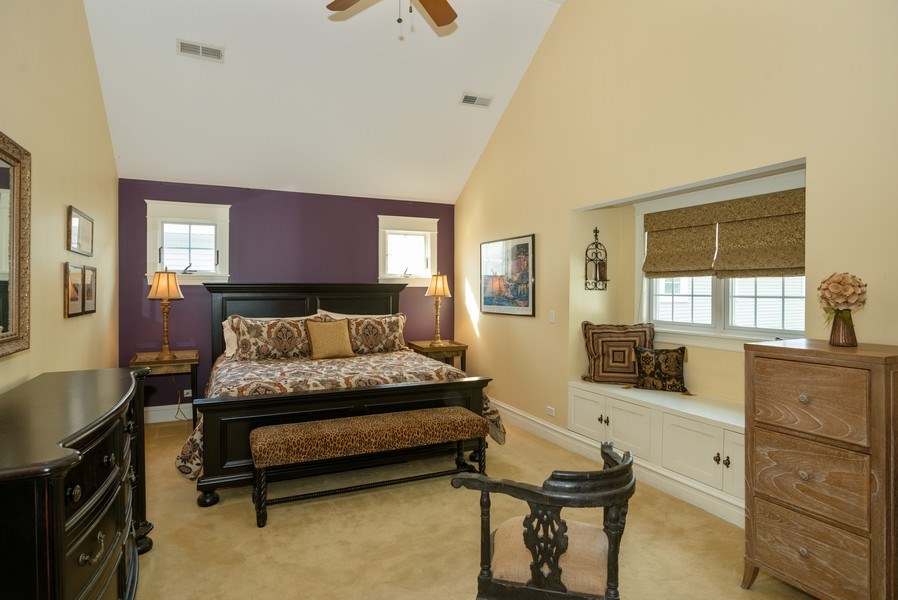 Real Estate Photography - 4108 N Oakley, Chicago Ill, IL, 60618 - Master Bedroom