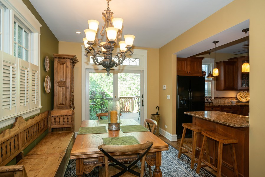 Real Estate Photography - 4108 N Oakley, Chicago Ill, IL, 60618 - Dining Area