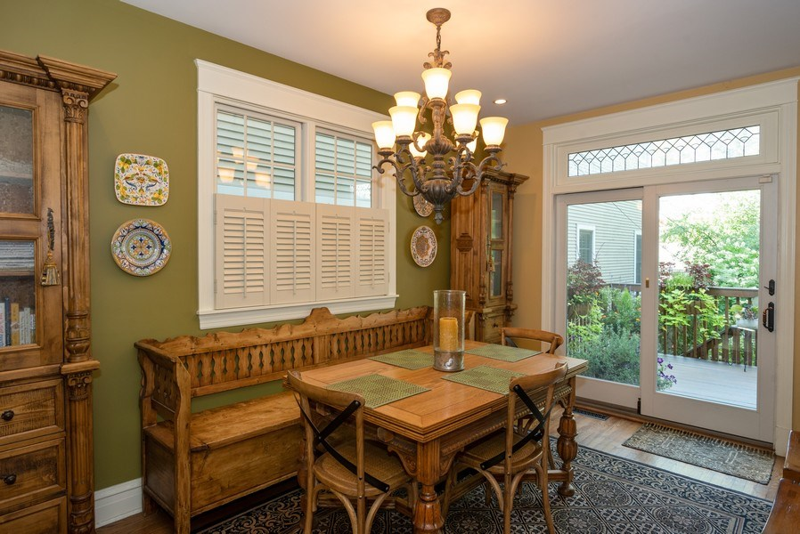 Real Estate Photography - 4108 N Oakley, Chicago Ill, IL, 60618 - Dining Room