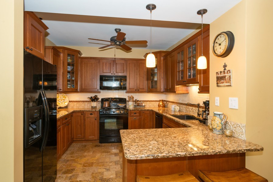 Real Estate Photography - 4108 N Oakley, Chicago Ill, IL, 60618 - Kitchen
