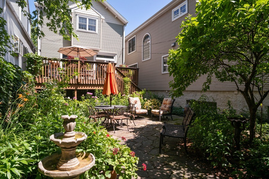 Real Estate Photography - 4108 N Oakley, Chicago Ill, IL, 60618 - Patio