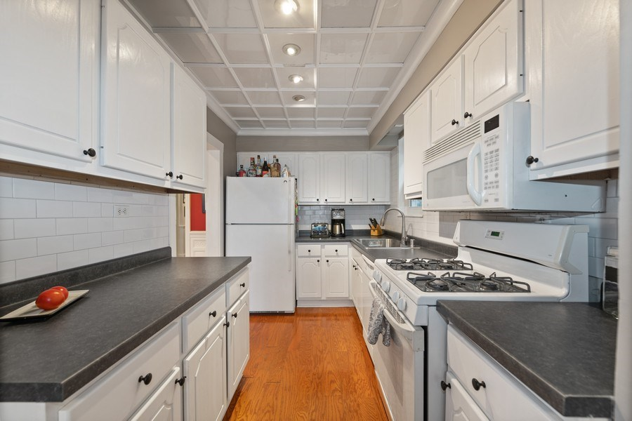 Real Estate Photography - 3512 W Beach Ave, Chicago, IL, 60651 - Kitchen