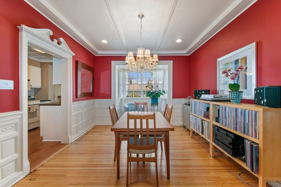 Real Estate Photography - 3512 W Beach Ave, Chicago, IL, 60651 - Dining Room