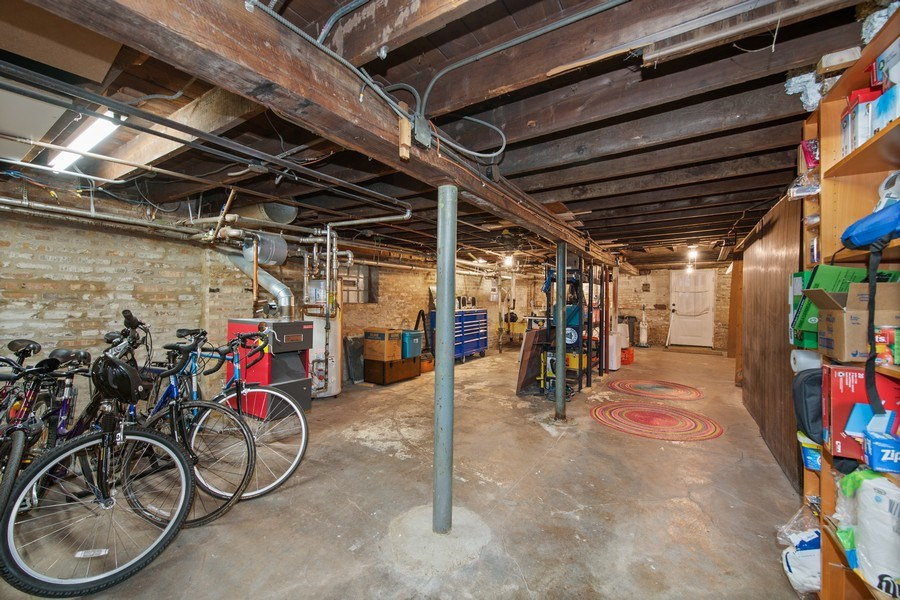 Real Estate Photography - 3512 W Beach Ave, Chicago, IL, 60651 - Basement