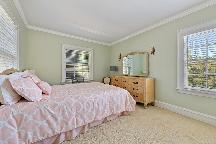 Real Estate Photography - 1560 Robin Road, Bannockburn, IL, 60015 - 3rd Bedroom